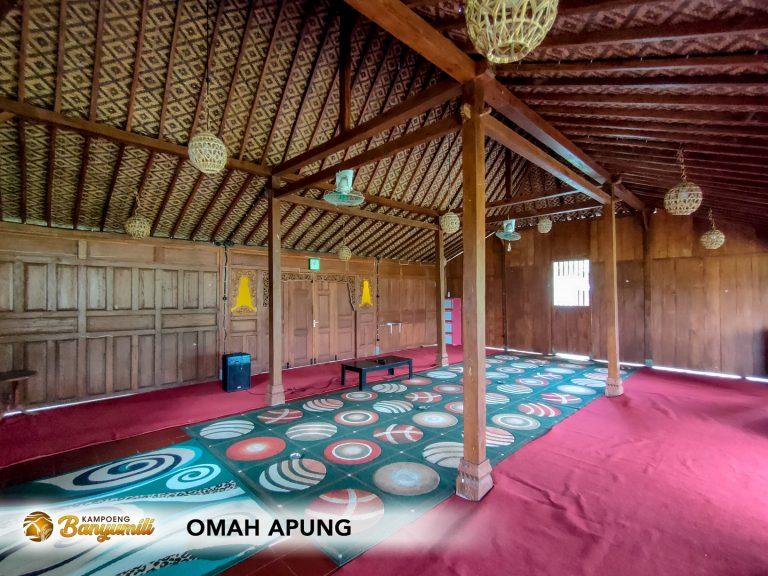 Interior Omah Apung