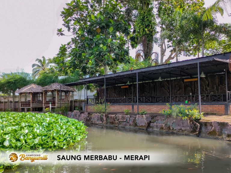 Saung Merbabu-Merapi